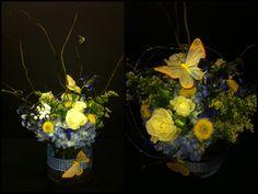 perfect flower arrangement for baby boy, baby shower Capitol Hill Florist, OKC, OK