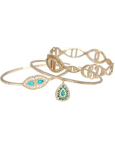 Burke Bangles in Turquoise - Pretty Much <3 These!