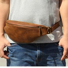 Bum Bag Fanny pack Festival Fanny Pack Vintage Leather Waist | Etsy Small Leather Bag, Leather Fanny Pack, Leather Belt Bag, Leather Men, Black Leather, Waist Pouch, Mens Waist Bag, Leather Bags Handmade, Leather Craft