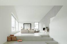 Wohnen : Minimalistische woonkamers van kit
