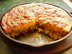 Mexican Cornbread from Food.com: Very easy to make,very good,I serve a salad with it. Thanks to my cousin Jewel for this recipe.
