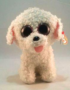 Pippie Ty Beanie Boos White Dog 8