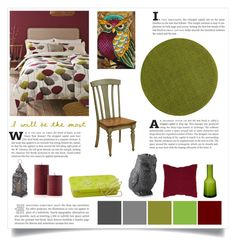 """""""owl art"""" by divacrafts ❤ liked on Polyvore featuring interior, interiors, interior design, home, home decor, interior decorating, Chilewich, DutchCrafters, Villeroy & Boch and Williams-Sonoma"""