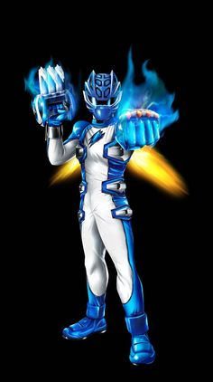 POWER RANGERS JUNGLE FURY - BLUE MASTER MODE by DXPRO on @DeviantArt
