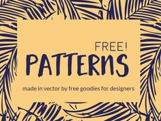 Freebie ~ 16 Fresh Vibrant Patterns That POP! These patterns that I'm sharing with you readers today are made of beautiful illustrations and colors that just POP! The download includes them in a r... http://83oranges.com/freebie-16-fresh-vibrant-patterns-that-pop/