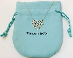 Tiffany & Co. Tiffany and Co. Paloma Picasso Olive Leaf Heart Necklace