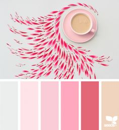 Ideas for painting room ideas design seeds Colour Pallette, Color Palate, Colour Schemes, Color Combinations, Design Seeds, Color Harmony, Deco Design, Color Swatches, Color Theory