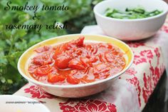 Tomato and rosemary relish - the best recipes for home made burger toppings