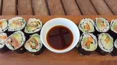 Cauliflower Sushi Low Calorie Recipes, Cauliflower, Sushi, Spices, Healthy Eating, Vegetables, Ethnic Recipes, Food, Eating Healthy