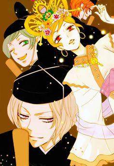 #kamisama hajimemashita #colored manga #manga cover #mangacaps #manga #romance shoujo manga #shoujo #romance manga recommend