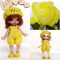 Hey, I found this really awesome Etsy listing at https://www.etsy.com/listing/228826630/knitted-outfit-golden-yellow-garden-rose