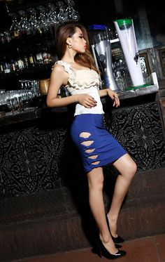 Skirt for the club maybe, not sure where else you could get away with wearing this, but it's a cool skirt!