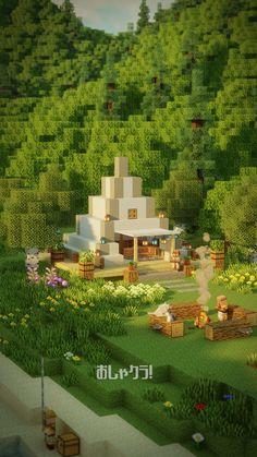 Minecraft Cottage, Minecraft Mansion, Cute Minecraft Houses, Minecraft Room, Minecraft Plans, Minecraft City, Minecraft House Designs, Amazing Minecraft, Minecraft Construction