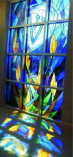 I AM THE QUINTESENTIAL KINDEGARDEN TEACHER NOW!. stained glass