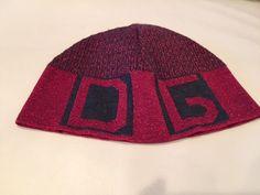D&G Women's Red&Black Shimmer  Hat, Made in Italy #DG #D&GWomens #D&GHat #Dolce&Gabbana #Dolce&GabbanaHat #Womens #D&GWomens #Hat