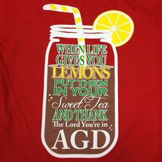 sorority sugar: When life gives you lemons...