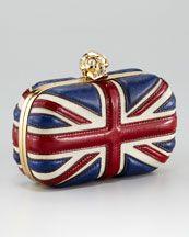 Alexander McQueen - Britania Classic Box Clutch