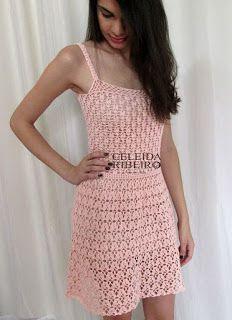 Tina's handicraft : crochet dress