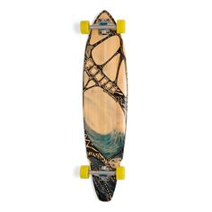 The Tidal Rider is a square tail design designed by industry legend Dale Smith. This design allows you to carve and flow through high speed turns without wheel bite. This board is a versatile design w