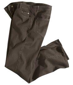 Braune Stretch-Jeans #atlasformen #atlasformende #atlasformendeutschland #meinung