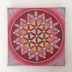Blume des Lebens Originalgemälde auf Leinwand 20 x 20 cm, Aborigine-Kunst, kleine Gemälde, Acryl auf Leinwand. Meine Kunst wird sorgfältig verpackt, um sicherzustellen, dass Malerei erreicht Sie in einwandfreiem Zustand und mit einer Priorität Luftpost gesendet. Bitcoins sind auch