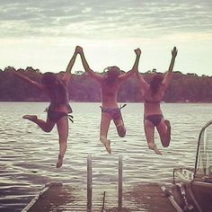 Summer must jumping picture with my bestfriends <3 H J G