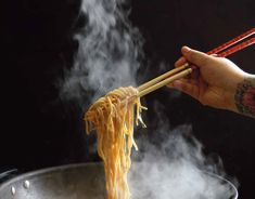 Longevity noodles from my cookbook Just add rice – stories and recipes by a Taiwanese South African #justaddrice #cookbook
