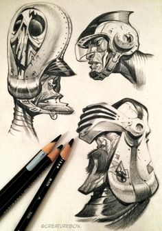 Ranger Danger by Oskar Kuijken Character Sketches, Character Illustration, Character Art, Illustration Art, Character Design, Comic Face, Drawing Sketches, Drawings, Arte Obscura