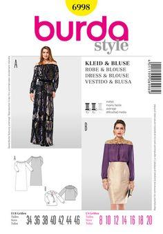 Kleider Schnittmuster von burda style – große Auswahl an individuellen Schnitten zum Selbernähen