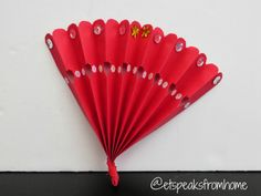How to make Chinese New Year Fan