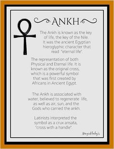Ancient Egyptians would bury the dead with an ankh and live scorpions to help them with transmutation in the afterlife 😍 Egyptian Mythology, Egyptian Symbols, Ancient Symbols, Ancient Egypt, Mayan Symbols, Viking Symbols, Viking Runes, Egyptian Goddess Names, Ankh Tattoo