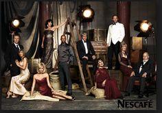 Annie Leibovitz Group photo for Nescafe Ad Corporate Portrait, Corporate Headshots, Business Portrait, Studio Portraits, Family Portraits, Family Photos, Family Posing, Group Photo Poses, Picture Poses