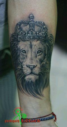 coroa e leão