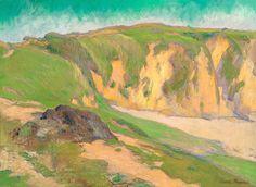 The Cliffs at Le Pouldu - Emile Bernard