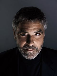 George Clooney as photographed by Marco Grob