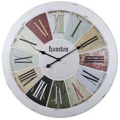 dekoratif eskitme duvar saatleri 2016