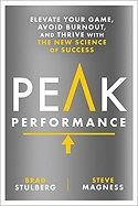Athletics: An Exclusive Excerpt From the Opening of the Book Peak Performance