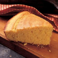 Buttermilk cornbread served from the skillet it is baked in is a special bread that is part of soul food tradition.