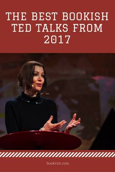 The best bookish TED talks of 2017