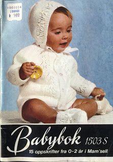 MISEMOR: Babybok 1503 S Knitting For Kids, Baby Knitting, Crochet Baby, Knit Crochet, Baby Barn, Christening Gowns, Little Darlings, Kos, Baby Kids