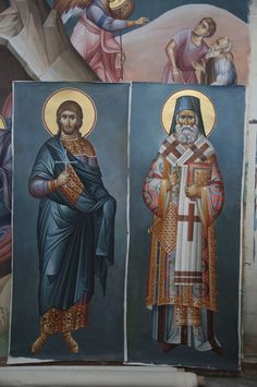 2 posts published by iconsalevizakis during September 2015 Church Interior, Byzantine Icons, Religious Icons, Orthodox Icons, Christ, Saints, Painting, Fictional Characters, September