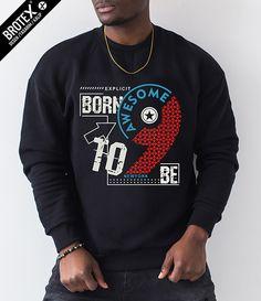 Shirt Print Design, Shirt Designs, Armani Sweatshirt, Winter T Shirts, T Shirt Painting, Mens Designer Shirts, Cricket Bat, Spirit Shirts, Men Design