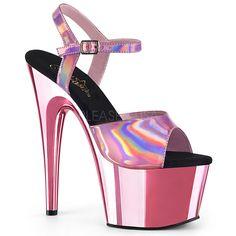 d744d0841a7 Plateau High Heels ADORE-709HGCH - Baby Pink Chrom