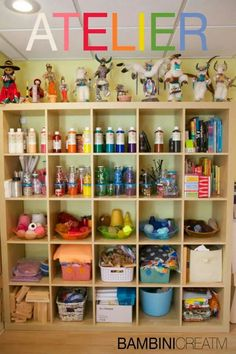 Material organization