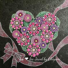 Heartheart artvalentinevalentine giftdot artdot