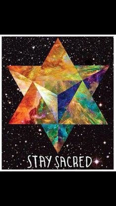 Star Tetrahedron aka Merkaba Sacred Geometry Art, Sacred Art, Psy Art, Mystique, Crystal Grid, Flower Of Life, Love And Light, Occult, Tarot