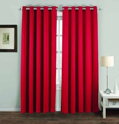 Best Home Fashion Burgundy 96 in. L Blackout Pinch Pleat Curtain Panel - The Home Depot Blackout Eyelet Curtains, Pinch Pleat Curtains, Pleated Curtains, Panel Curtains, Custom Drapes, Colorful Curtains, Patio Doors, Home Fashion, Colorful Interiors
