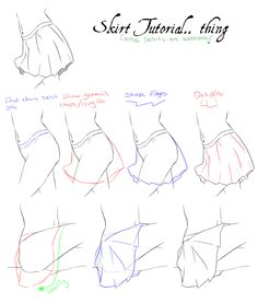 Quick Skirt Tutorial by ColletteRen.deviantart.com on @deviantART