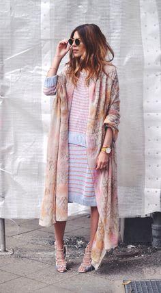 kimono-ing it. Maja in Copenhagen.