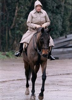 Queen Elizabeth II riding in 1994 at Sandringham Hm The Queen, Royal Queen, Her Majesty The Queen, English Royal Family, British Royal Families, Fell Pony, Lady Diana, Prinz William, Royalty